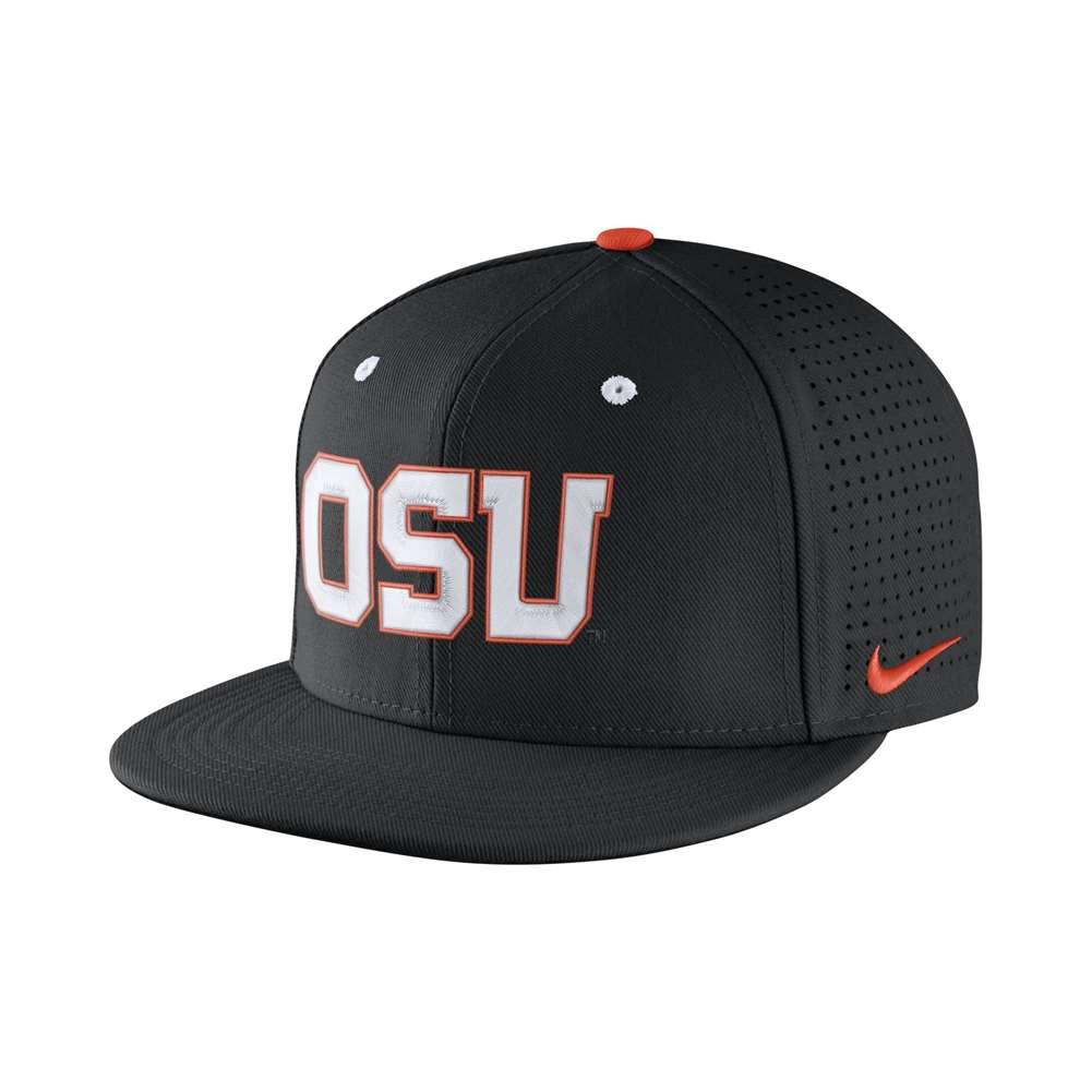 quality design e8894 913ab ... canada nike oregon state beavers fitted baseball hat 33e4b d9480
