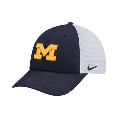 classic fit 48cfa 89340 Nike Michigan Wolverines H86 Trucker Hat