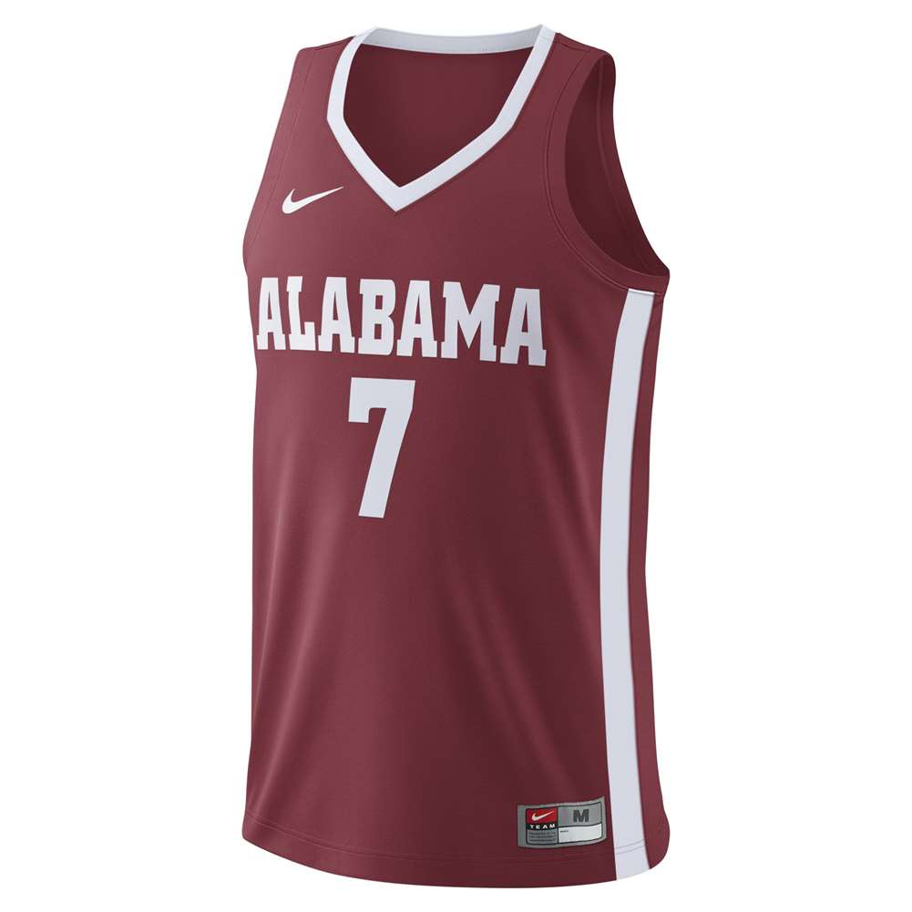 Nike Alabama Crimson Tide Replica Basketball Jersey -  7 Crimson beb1ae147