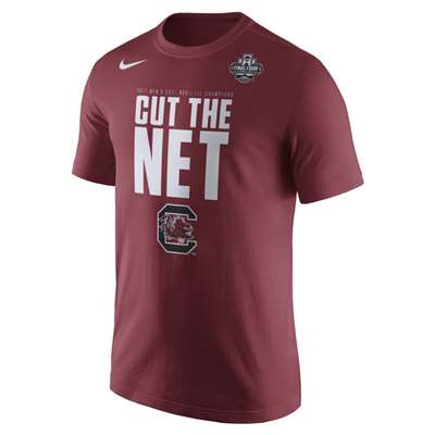 Nike South Carolina Gamecocks Final Four Cut the Net T-Shirt