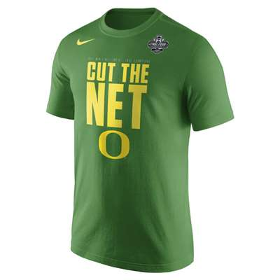 sports shoes 5b1a7 3252b Nike Oregon Ducks Final Four Cut the Net T-Shirt