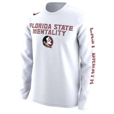 new styles eef81 212a9 Nike Florida State Seminoles L/S Mentality T-Shirt
