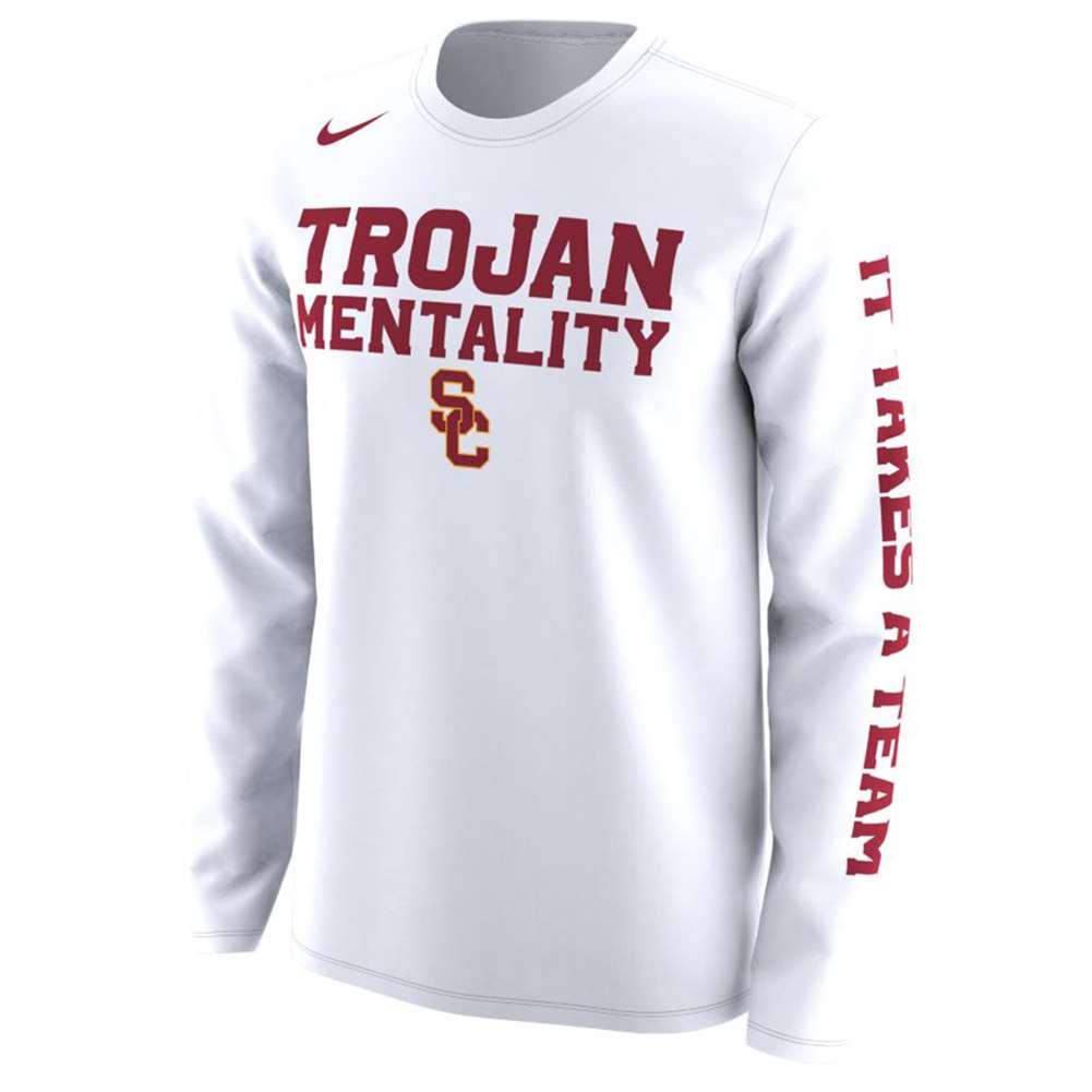 afb9665af Nike USC Trojans L/S Mentality T-Shirt