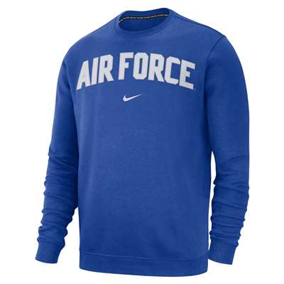 065baf43 Nike Air Force Falcons Club Fleece Crew Sweatshirt