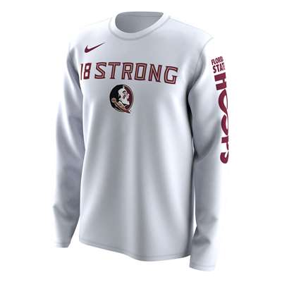 buy online ec18a 19dfc Nike Florida State Seminoles NCAA Basketball Tournament March Madness Bench  Legend Performance Long Sleeve T-Shirt