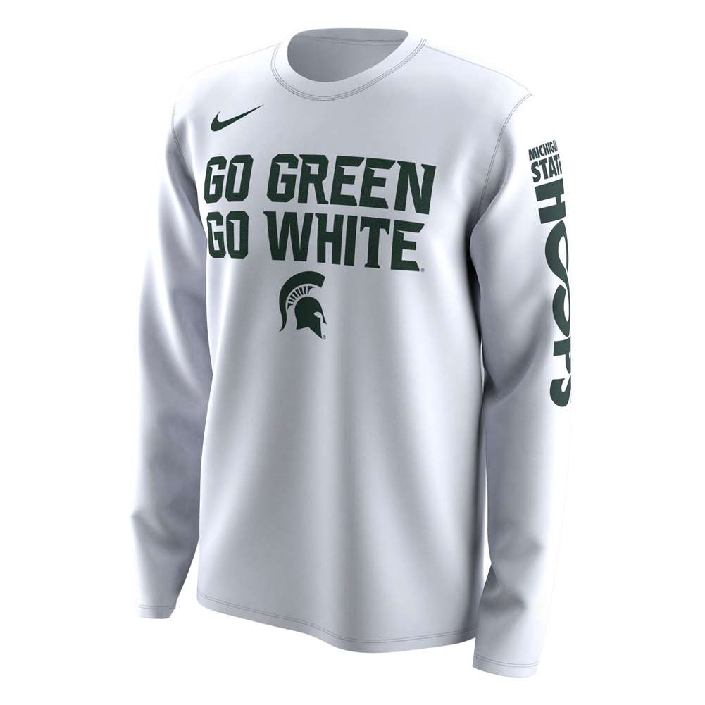 182252d6 Nike Michigan State Spartans NCAA Basketball Tournament March ...