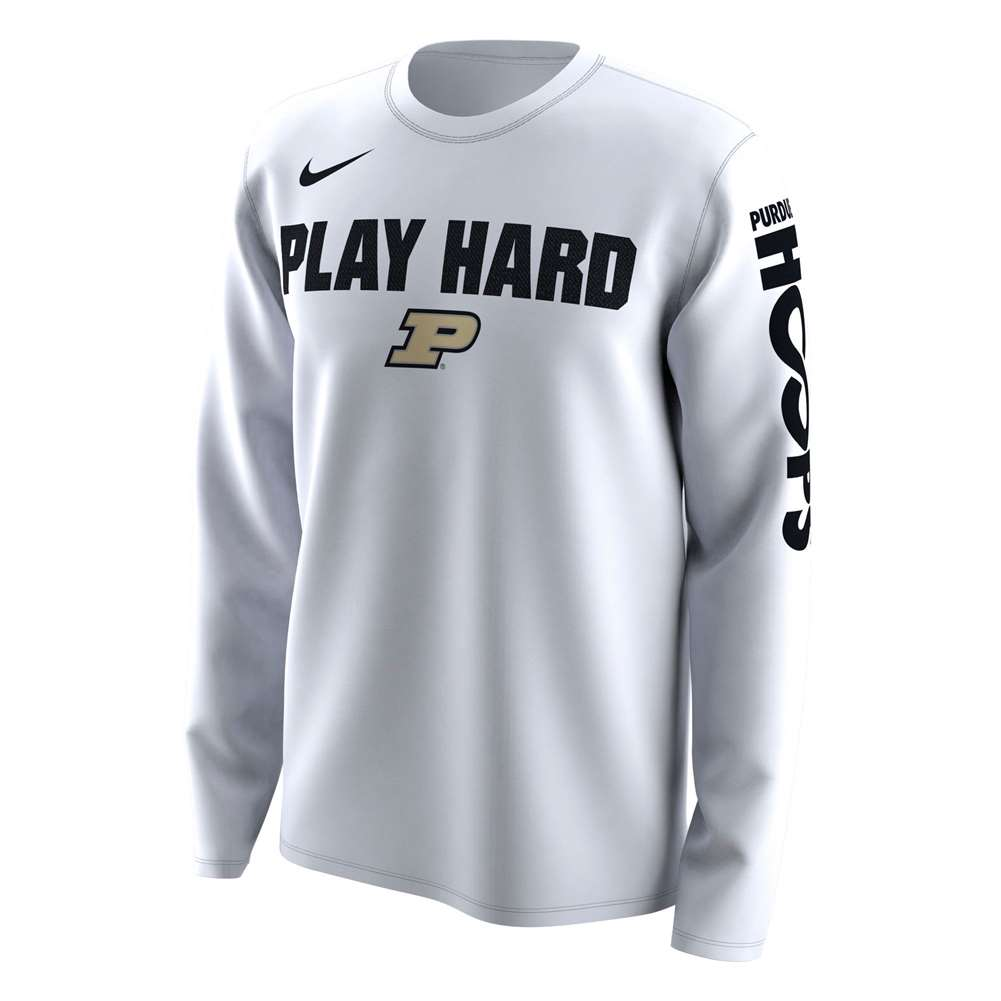 de517197 Nike Purdue Boilermakers NCAA Basketball Tournament March ...