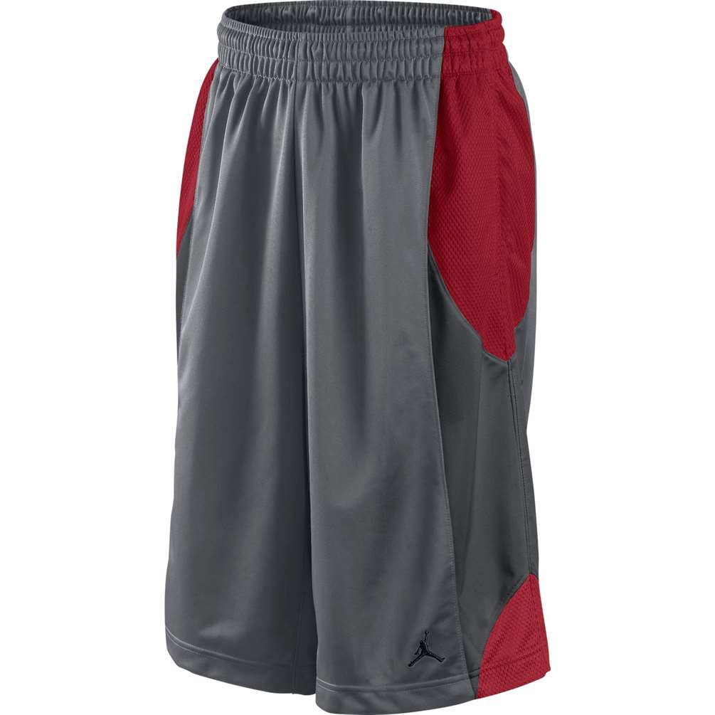 d2793315cb15a4 Jordan Durasheen Basketball Short - Grey Red Black