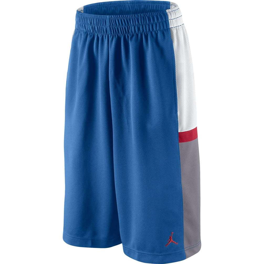 ceda495f979 Jordan Bankroll Basketball Short - Blue/White/Grey/Red