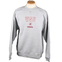 Nike Washington State Cougars Backfield Crew Sweatshirt