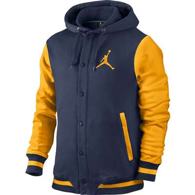 blue and yellow jordan outfit