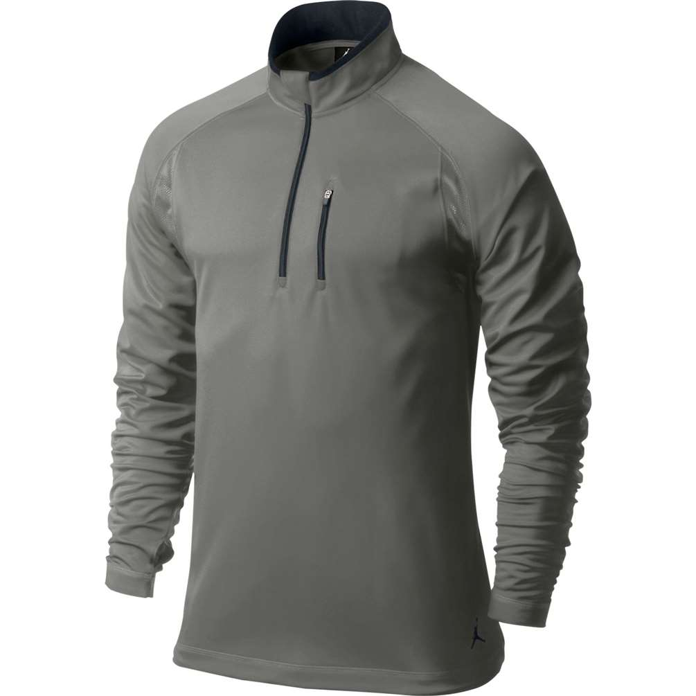 685725a73fe1 Jordan Dominate 1 4 Zip Top - Dark Grey