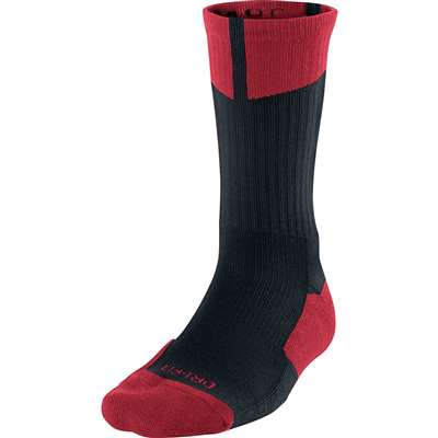 Air Jordan Dri-Fit Crew Socks - Black/Red