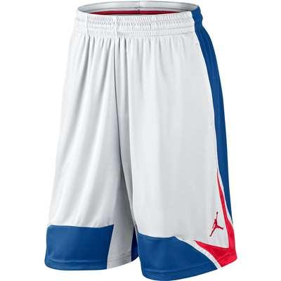418b13b1f382 Jordan Phase 23 Basketball Short - White Blue Red