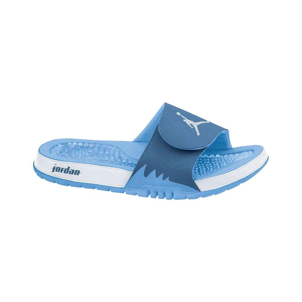 09ce347d0b8 Jordan Hydro V Retro Slide - Light Blue/White