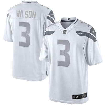 russell wilson white jersey
