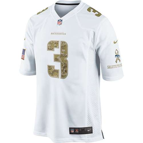 ... norway nike seattle seahawks russell wilson camo salute to service  special edition game jersey white 3 81a360e35
