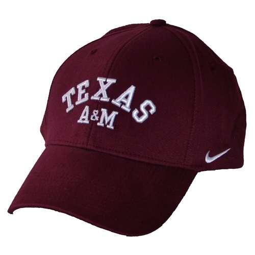 24e9a0738 Nike Texas A&M Aggies Aggies Swoosh Flex Hat