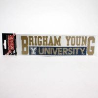 Brigham Young High Performance Decal - Brigham Young Over University
