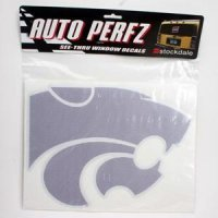 Kansas State Perforated Vinyl Window Decal