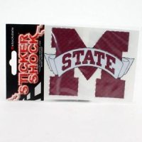 Mississippi State High Performance Decal - Primary Logo