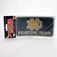 Notre Dame High Performance Decal - Notre Dame Over Fighting Irish