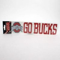 Ohio State High Performance Decal - Go Bucks