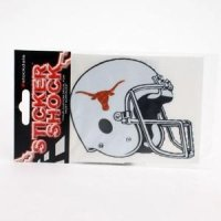Texas High Performance Decal - Longhorn Helmet
