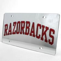 Arkansas Inlaid Acrylic License Plate -