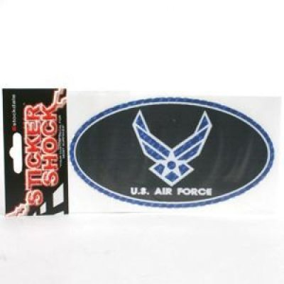 TeamStores.com - Air Force Falcons High Performance Decal - Oval
