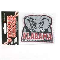 Alabama Crimson Tide High Performance Decal - Elephant with Alabama Crimson Tide