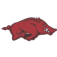Arkansas High Performance Decal - Hog Running Right
