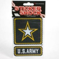 U.s. Army High Performance Decal - Star/square