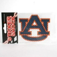 "Auburn High Performance Decal - ""au"""