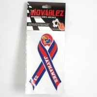 Kansas Jayhawks High Performance Decal - Moveable Ribbon