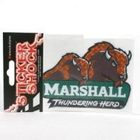 "Marshall High Performance Decal - ""thundering Herd"""