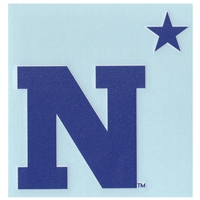 "U.s. Navy High Performance Decal - ""n"" With Star"