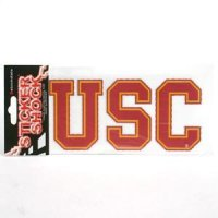 "Usc High Performance Decal - ""usc"""