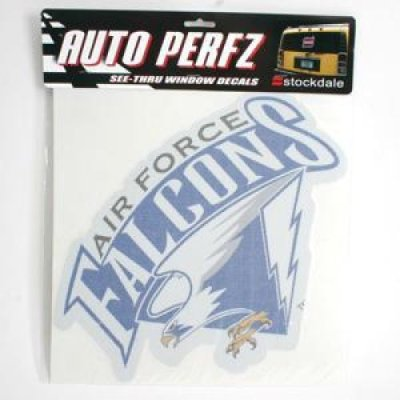 TeamStores.com - Air Force Falcons Perforated Vinyl Window Decal - Sticker