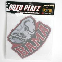 Alabama Perforated Vinyl Window Decal