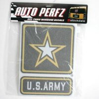 U.s. Army Perforated Vinyl Window Decal