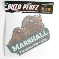 Marshall Perforated Vinyl Window Decal