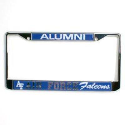 Air Force Alumni Metal License Plate Frame W Domed Insert