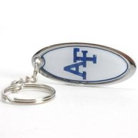 TeamStores.com - Air Force Falcons Metal Key Chain W/domed Insert