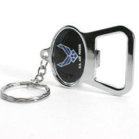TeamStores.com - Air Force Falcons Metal Key Chain And Bottle Opener W/domed Insert
