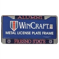 Fresno State Bulldogs Alumni Metal License Frame