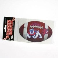 Fresno State Football Decal