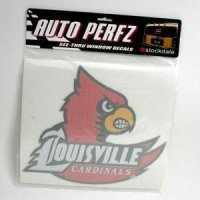 Louisville Perforated Vinyl Window Decal