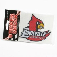 Louisville Cardinals Decal With Mascot