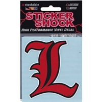 "Louisville ""l"" Decal"